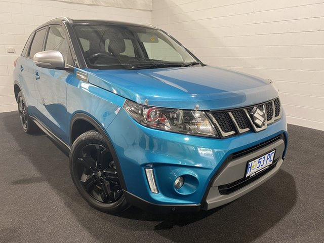 Used Suzuki Vitara LY S Turbo 2WD Glenorchy, 2016 Suzuki Vitara LY S Turbo 2WD Green 6 Speed Sports Automatic Wagon