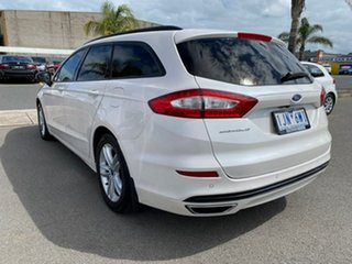2017 Ford Mondeo MD Ambiente White Sports Automatic Dual Clutch Wagon