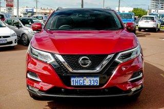 2020 Nissan Qashqai J11 Series 3 MY20 Ti X-tronic Red 1 Speed Constant Variable Wagon