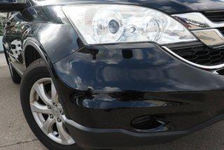 2010 Honda CR-V RE MY2010 Limited Edition 4WD Black 6 Speed Manual Wagon.