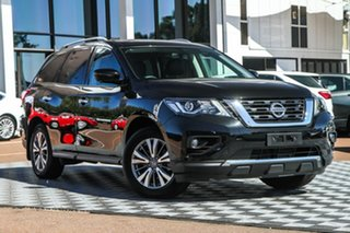 2020 Nissan Pathfinder R52 Series III MY19 ST-L X-tronic 4WD Diamond Black 1 Speed Constant Variable.