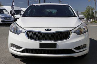 2015 Kia Cerato YD MY16 S Premium Clear White 6 Speed Sports Automatic Hatchback