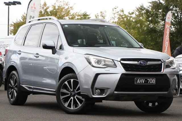 Used Subaru Forester S4 MY17 XT CVT AWD Premium Essendon North, 2016 Subaru Forester S4 MY17 XT CVT AWD Premium Silver, Chrome 8 Speed Constant Variable Wagon