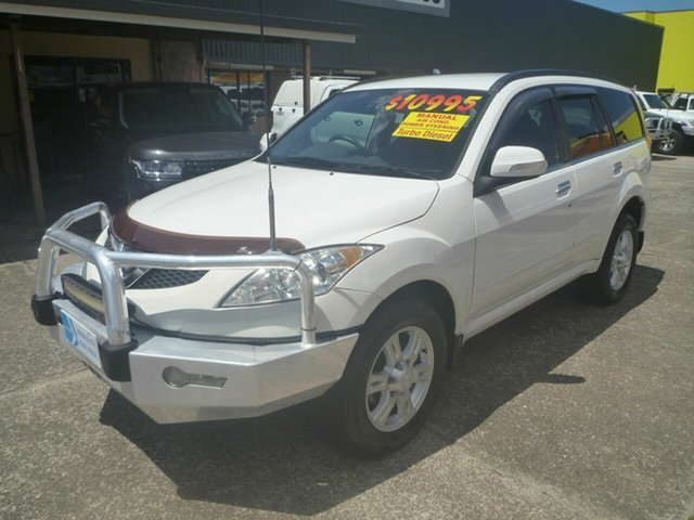 Used Great Wall X200 K2 MY12 Morayfield, 2012 Great Wall X200 K2 MY12 White 6 Speed Manual Wagon