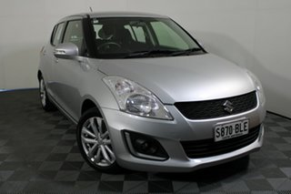 2015 Suzuki Swift FZ MY15 GL Navigator Silver 4 Speed Automatic Hatchback