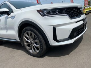2020 Kia Sorento MQ4 MY21 GT-Line AWD Snow White Pearl 8 Speed Sports Automatic Dual Clutch Wagon.