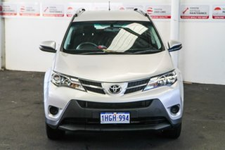 2014 Toyota RAV4 ZSA42R MY14 Upgrade GX (2WD) Silver Pearl Continuous Variable Wagon