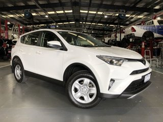 2018 Toyota RAV4 ZSA42R GX 2WD White 7 Speed Constant Variable Wagon.