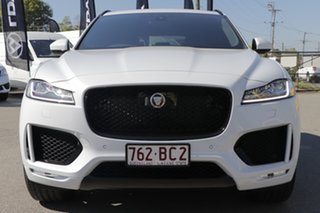 2020 Jaguar F-PACE X761 MY20 Chequered Flag Yulong White 8 Speed Sports Automatic Wagon
