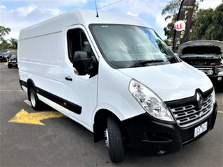 2015 Renault Master X62 Mid Roof LWB AMT RWD White 6 Speed Sports Automatic Single Clutch Van.