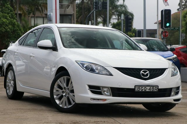 Pre-Owned Mazda 6 GH Classic Mosman, 2008 Mazda 6 GH Classic 5 Speed Auto Activematic Hatchback