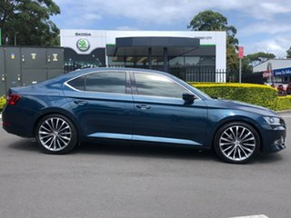 2016 Skoda Superb NP MY16 162TSI Sedan DSG Blue 6 Speed Sports Automatic Dual Clutch Liftback.