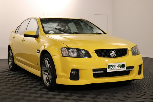 Used Holden Commodore VE II SV6 Acacia Ridge, 2011 Holden Commodore VE II SV6 Devil Yellow 6 speed Automatic Sedan