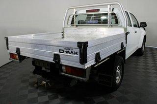 2015 Isuzu D-MAX MY15 SX Crew Cab White 5 Speed Manual Utility.