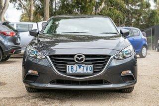 2013 Mazda 3 BM5478 Neo SKYACTIV-Drive Meteor Grey 6 Speed Sports Automatic Hatchback