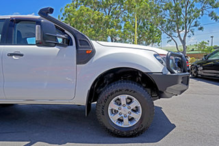2015 Ford Ranger PX XLS Double Cab Cool White 6 Speed Sports Automatic Utility