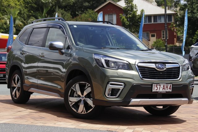 Demo Subaru Forester S5 MY21 2.5i-S CVT AWD Newstead, 2020 Subaru Forester S5 MY21 2.5i-S CVT AWD Jasper Green Metallic 7 Speed Constant Variable Wagon