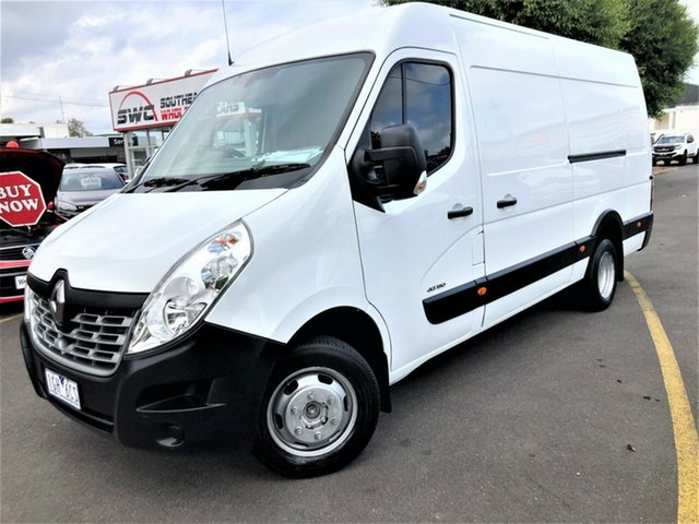 Used Renault Master X62 High Roof ELWB AMT RWD Seaford, 2015 Renault Master X62 High Roof ELWB AMT RWD White 6 Speed Sports Automatic Single Clutch Van