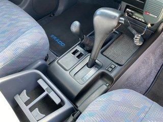 2002 Toyota Landcruiser Prado VZJ95R GXL White 4 Speed Automatic Wagon