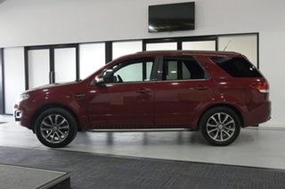 2016 Ford Territory SZ MK2 Titanium (RWD) Emperor Red 6 Speed Automatic Wagon