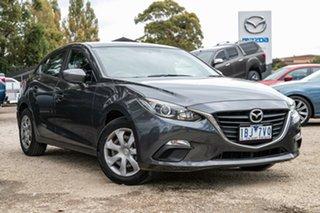 2013 Mazda 3 BM5478 Neo SKYACTIV-Drive Meteor Grey 6 Speed Sports Automatic Hatchback.