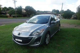 2010 Mazda 3 BL10L1 SP25 Activematic Silver 5 Speed Sports Automatic Sedan.
