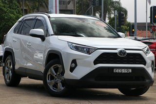 2019 Toyota RAV4 Mxaa52R GXL 2WD Crystal Pearl 10 Speed Constant Variable Wagon.