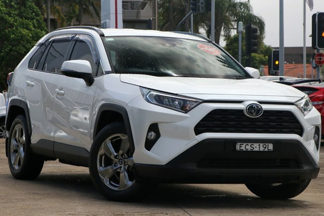 Pre-Owned Toyota RAV4 Mxaa52R GXL 2WD Mosman, 2019 Toyota RAV4 Mxaa52R GXL 2WD Crystal Pearl 10 Speed Constant Variable Wagon