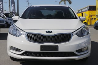2015 Kia Cerato YD MY15 S Premium Clear White 6 Speed Sports Automatic Sedan