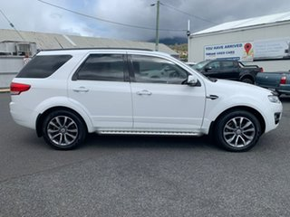 2015 Ford Territory SZ MkII Titanium Seq Sport Shift White 6 Speed Sports Automatic Wagon.