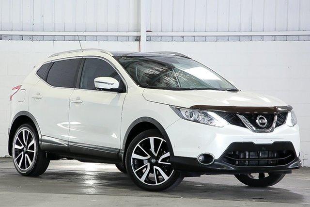 Used Nissan Qashqai J11 TI West Gosford, 2017 Nissan Qashqai J11 TI White 1 Speed Constant Variable Wagon