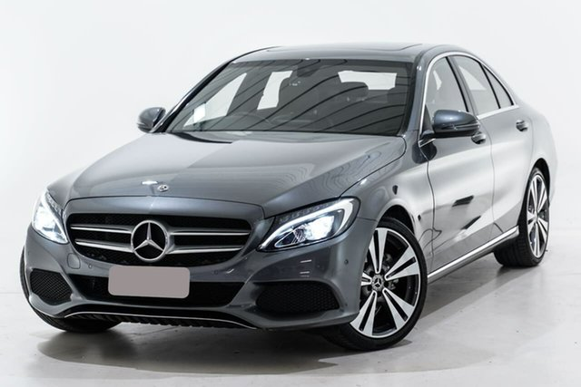 Used Mercedes-Benz C-Class W205 808MY C200 9G-Tronic Berwick, 2018 Mercedes-Benz C-Class W205 808MY C200 9G-Tronic Grey 9 Speed Sports Automatic Sedan