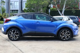 2019 Toyota C-HR NGX10R Koba S-CVT 2WD Nebula Blue & Black Roof 7 Speed Constant Variable Wagon