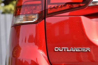 2019 Mitsubishi Outlander ZL MY20 LS 2WD Red 6 Speed Constant Variable Wagon