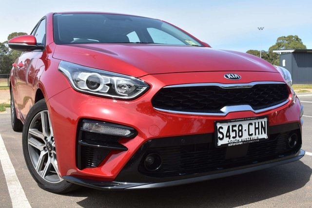 Demo Kia Cerato BD MY21 Sport+ St Marys, 2020 Kia Cerato BD MY21 Sport+ Runway Red 6 Speed Sports Automatic Hatchback