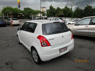 2008 Suzuki Swift EZ 07 Update White 5 Speed Manual Hatchback