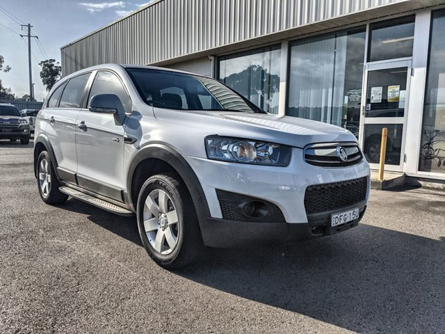 Used Holden Captiva CG Series II MY12 7 SX Cardiff, 2013 Holden Captiva CG Series II MY12 7 SX White 6 Speed Sports Automatic Wagon