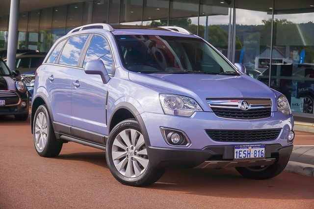Used Holden Captiva CG MY15 5 LT Gosnells, 2015 Holden Captiva CG MY15 5 LT Blue 6 Speed Sports Automatic Wagon