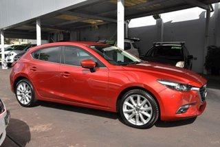2016 Mazda 3 BN5436 SP25 SKYACTIV-MT Red 6 Speed Manual Hatchback.