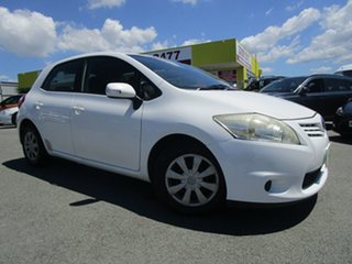 2010 Toyota Corolla ZRE152R MY10 Conquest White 4 Speed Automatic Hatchback