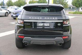 2015 Land Rover Range Rover Evoque L538 MY15 Prestige Black 9 Speed Sports Automatic Wagon