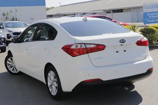 2015 Kia Cerato YD MY15 S Premium Clear White 6 Speed Sports Automatic Sedan.