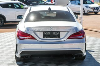2015 Mercedes-Benz CLA-Class C117 805+055MY CLA45 AMG SPEEDSHIFT DCT 4MATIC Polar Silver 7 Speed