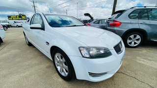 2012 Holden Ute VE II MY12 Omega White 6 Speed Sports Automatic Utility.