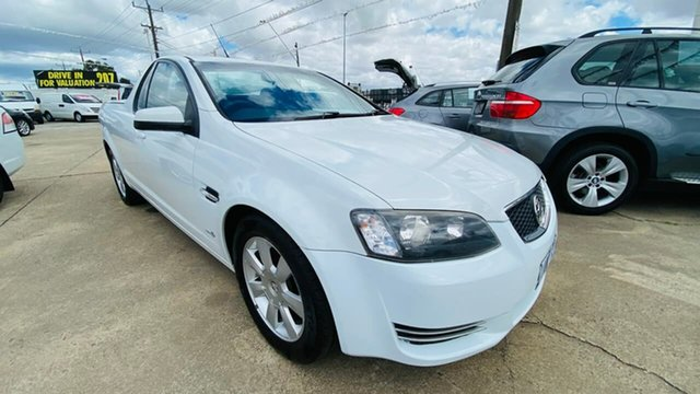 Used Holden Ute VE II MY12 Omega Maidstone, 2012 Holden Ute VE II MY12 Omega White 6 Speed Sports Automatic Utility