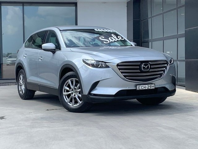 Used Mazda CX-9 TC Touring SKYACTIV-Drive Liverpool, 2019 Mazda CX-9 TC Touring SKYACTIV-Drive Silver 6 Speed Sports Automatic Wagon