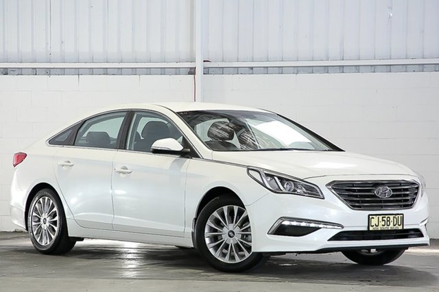Used Hyundai Sonata LF2 MY16 Active West Gosford, 2016 Hyundai Sonata LF2 MY16 Active White 6 Speed Sports Automatic Sedan