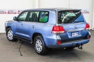 2007 Toyota Landcruiser VDJ200R Sahara Greyish Blue 6 Speed Sports Automatic Wagon.