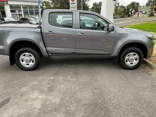 2017 Holden Colorado RG MY17 LS Pickup Crew Cab 4x2 Grey 6 Speed Sports Automatic Utility.