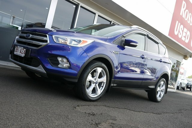 Used Ford Escape ZG Trend Bundaberg, 2016 Ford Escape ZG Trend Blue 6 Speed Sports Automatic SUV